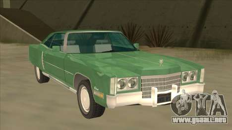 Cadillac Eldorado para GTA San Andreas left