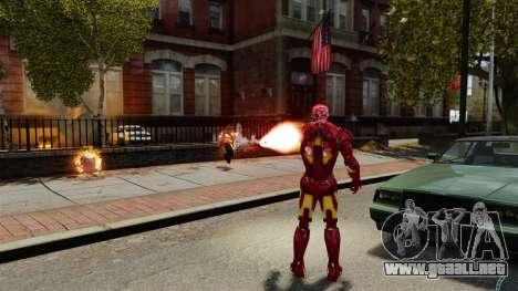 Hierro hombre IV v 2.0 para GTA 4 séptima pantalla