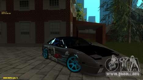 Nissan Silvia RPS13 CIAY para vista lateral GTA San Andreas