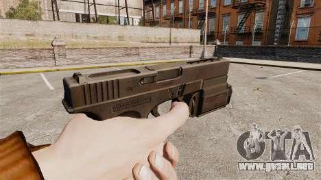 Táctica de la pistola Glock 18 v1 para GTA 4 segundos de pantalla