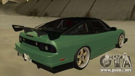 Nissan 180SX Uras GT para la visión correcta GTA San Andreas