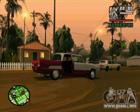 Oceanic HD para visión interna GTA San Andreas