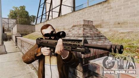 El rifle DSR-1 para GTA 4 tercera pantalla