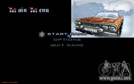 Snow San Andreas 2011 HQ - SA:MP 1.1 para GTA San Andreas twelth pantalla