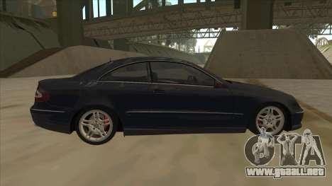 Mercedes-Benz CLK55 AMG 2003 para GTA San Andreas left