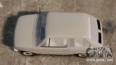 Fiat 126 v1.1 para GTA 4 visión correcta