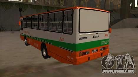 Tacurong Express 368 para GTA San Andreas vista hacia atrás