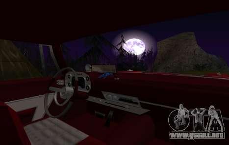 Plymouth Fury para visión interna GTA San Andreas