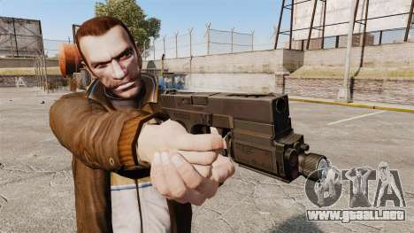 Táctica de la pistola Glock 18 v1 para GTA 4 tercera pantalla