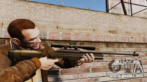 Rifle de francotirador Sako TRG-42 para GTA 4