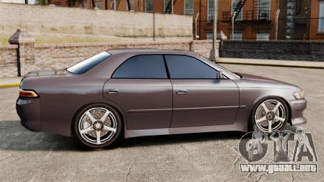 Toyota Mark II 1990 v1 para GTA 4 left