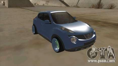 Nissan Juke Lowrider para GTA San Andreas left