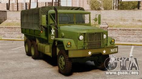 Militar básica del carro AM General M35A2 1950 para GTA 4
