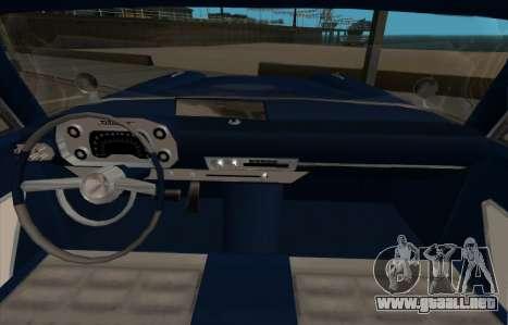 Plymouth Fury para GTA San Andreas left