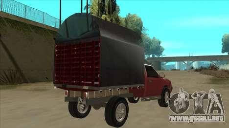 Chevrolet Luv 2.500 diesel para la visión correcta GTA San Andreas