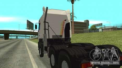 MAZ 5440 para visión interna GTA San Andreas