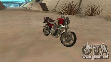 Honda CBX400F para GTA San Andreas