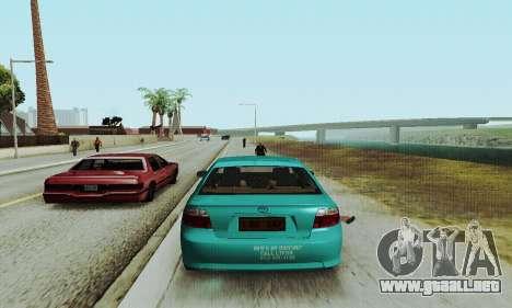 Toyota Corolla City Mastercab para la visión correcta GTA San Andreas