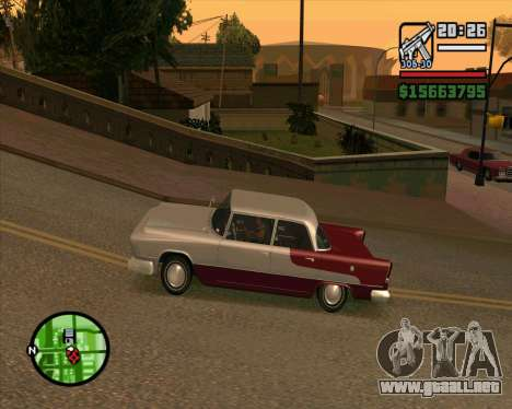 Oceanic HD para GTA San Andreas left