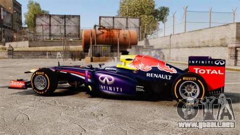 Coche, Red Bull RB9 v2 para GTA 4 left