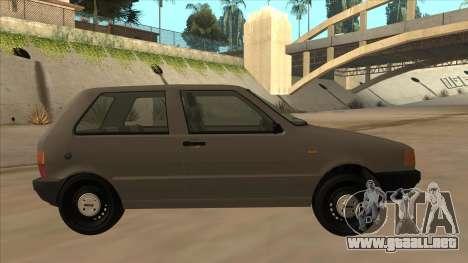 Fiat Uno 1995 para GTA San Andreas vista posterior izquierda