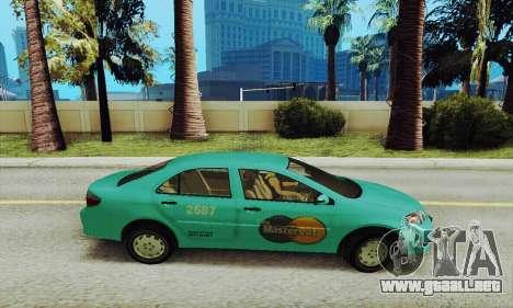 Toyota Corolla City Mastercab para GTA San Andreas left