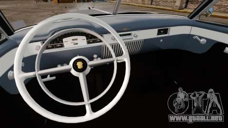Cadillac Series 62 convertible 1949 [EPM] v4 para GTA 4 vista hacia atrás