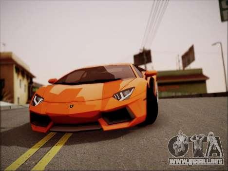 Lamborghini Aventador LP700 para la vista superior GTA San Andreas