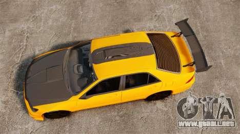 Lexus IS 300 para GTA 4 visión correcta