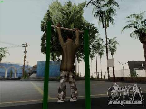 Barra horizontal para GTA San Andreas sucesivamente de pantalla