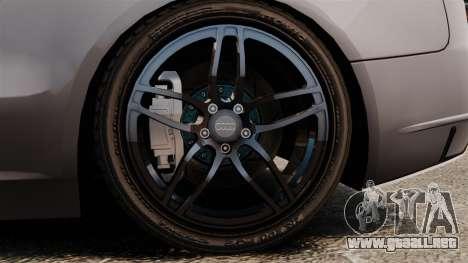 Audi S5 EmreAKIN Edition para GTA 4 vista hacia atrás