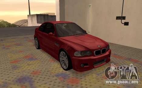 BMW M3 E46 2005 Body Damage para GTA San Andreas left