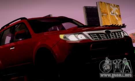 Subaru Forester XT 2008 v2.0 para el motor de GTA San Andreas