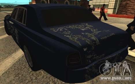 Rolls-Royce Phantom para las ruedas de GTA San Andreas