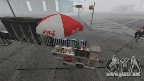 Los quioscos actualizados y carros calientes dog para GTA 4 séptima pantalla