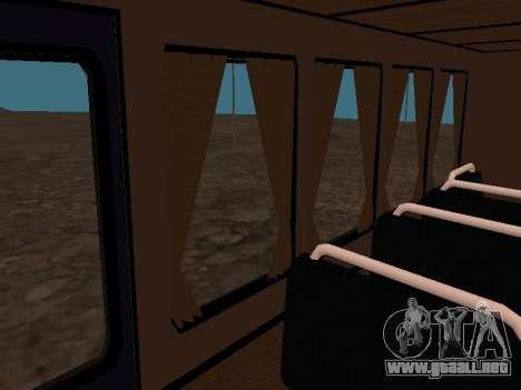 GAZ 66 ver para GTA San Andreas interior