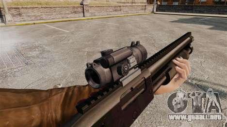 Escopeta táctica v1 para GTA 4 quinta pantalla
