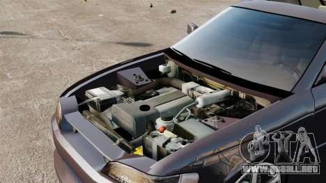 Toyota Mark II 1990 v1 para GTA 4 vista hacia atrás