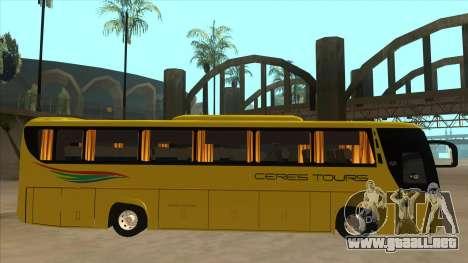Yanson Legacy - CERES TOURS 55003 para GTA San Andreas vista posterior izquierda