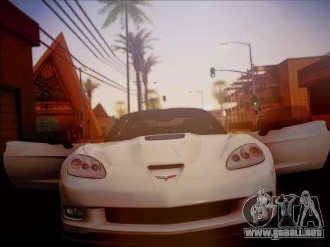 Chevrolet Corvette ZR1 2010 para la visión correcta GTA San Andreas