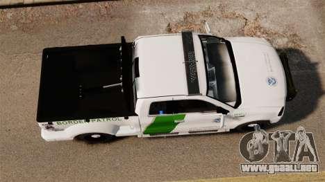 Ford F-150 v3.3 Border Patrol [ELS & EPM] v3 para GTA 4 visión correcta