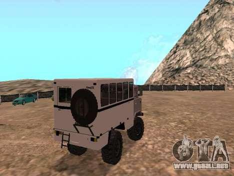 GAZ 66 ver para la visión correcta GTA San Andreas