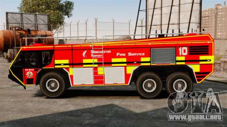 Camion Hydramax AERV v2.4-EX Manchester para GTA 4 left