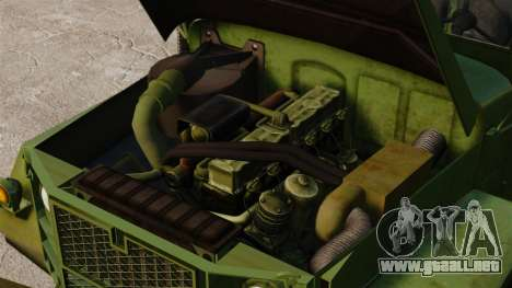 Militar básica del carro AM General M35A2 1950 para GTA 4 vista lateral