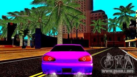 Elegy Drift Silvia para GTA San Andreas vista posterior izquierda