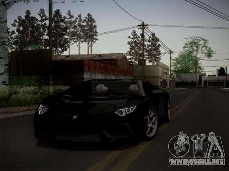 Lamborghini Aventador LP760-2 para la visión correcta GTA San Andreas