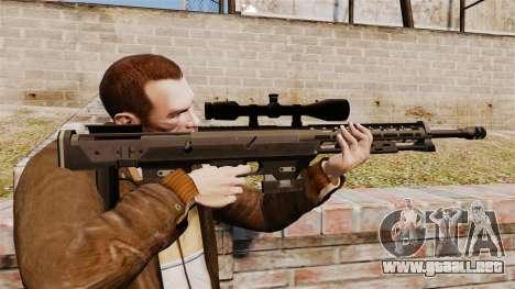 El rifle DSR-1 para GTA 4