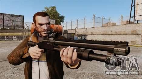 Escopeta táctica v1 para GTA 4 tercera pantalla