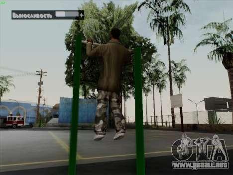 Barra horizontal para GTA San Andreas quinta pantalla