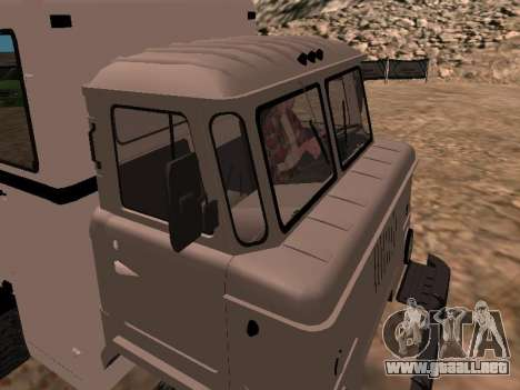 GAZ 66 ver para visión interna GTA San Andreas